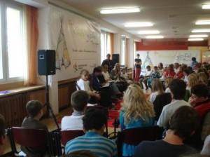 Diskussionsrunde mit Frau Lieberknecht