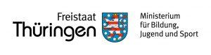 Logo des Ministerium für Bildung, Jugend und Sport des Freistaates Thüringen